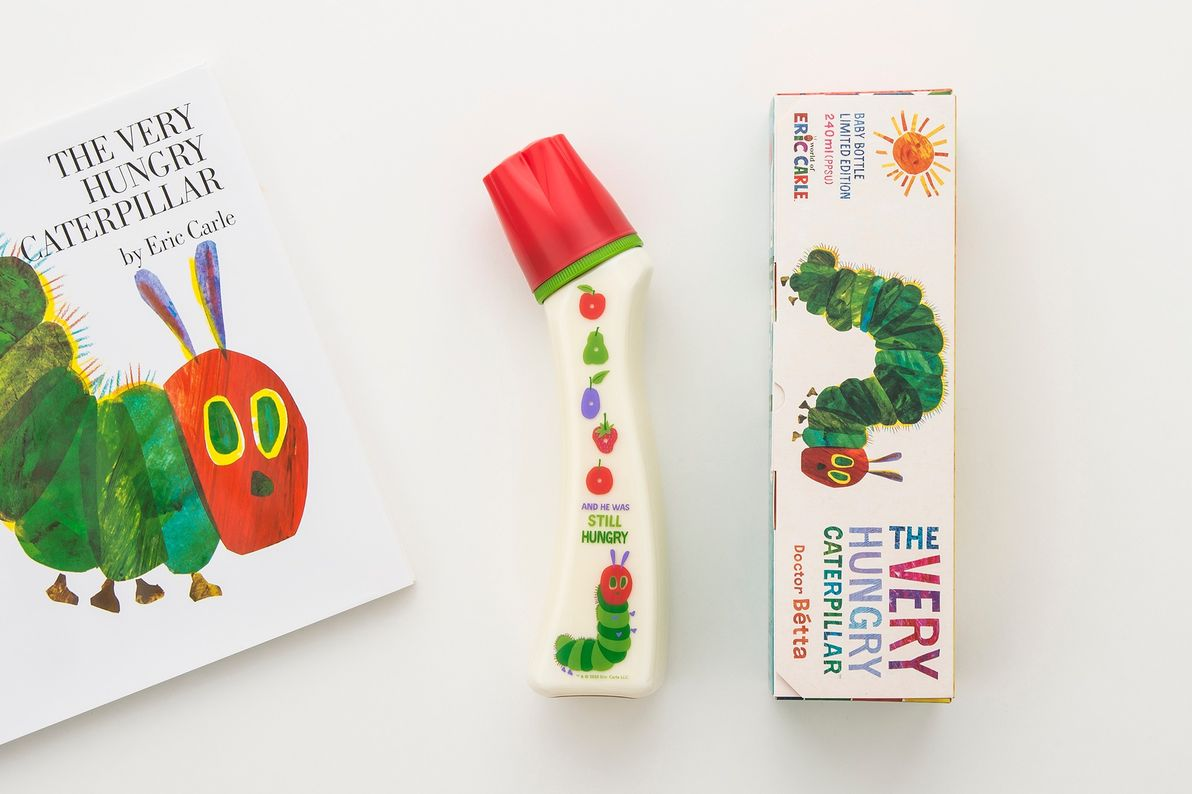 THE VERY HUNGRY CATERPILLAR + Dcotor Bétta Baby Bottle